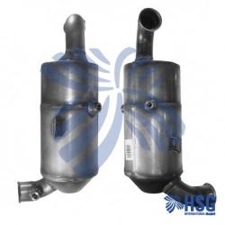Dieselpartikelfilter DPF Rußpartikelfilter Citroën 1.6 HDi 1.6 HDi 110 1.6 HDi 90 Peugeot 1.6 HDi 1.6 HDi 110 NEW NEU