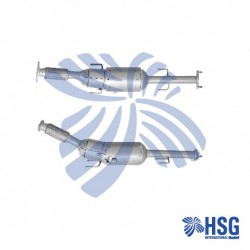 Dieselpartikelfilter DPF  Rußpartikelfilter 13611634  Nissan Juke NEW NEU