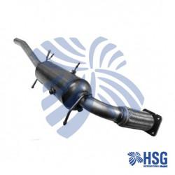 Dieselpartikelfilter DPF Rußpartikelfilter 13611593 Ford Transit NEW NEU