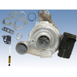 Turbolader Mercedes E 350 CDI 170 kW 6420901680 781743-5001S Inkl. Dichtung