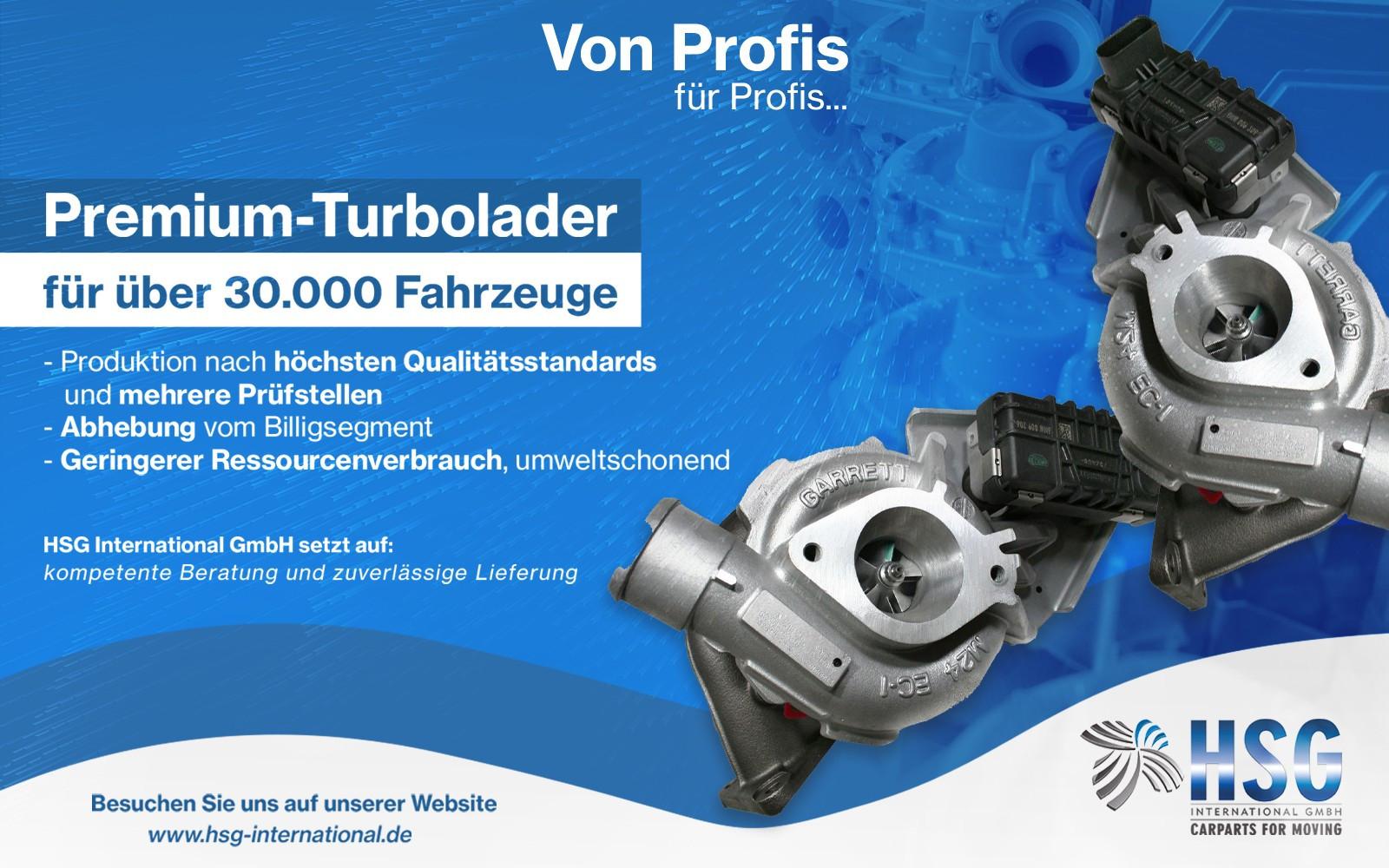 Premium turbolader